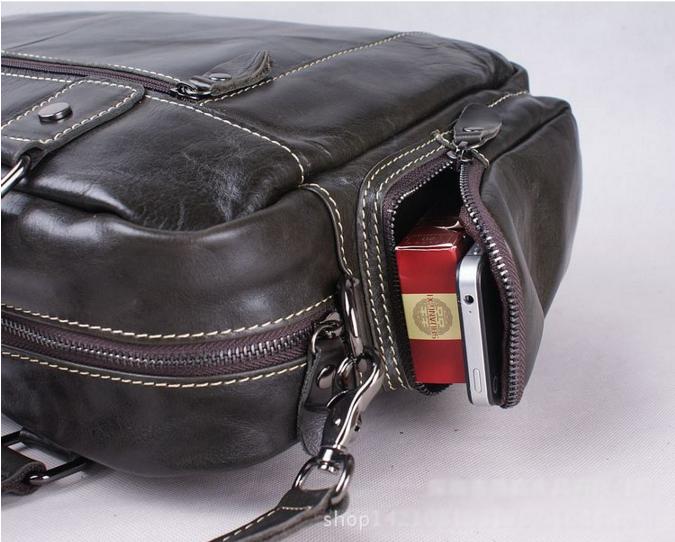 Túi da thật du lịch PL012-4