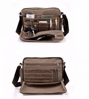 Túi đeo chéo vải đựng ipad ip016-1